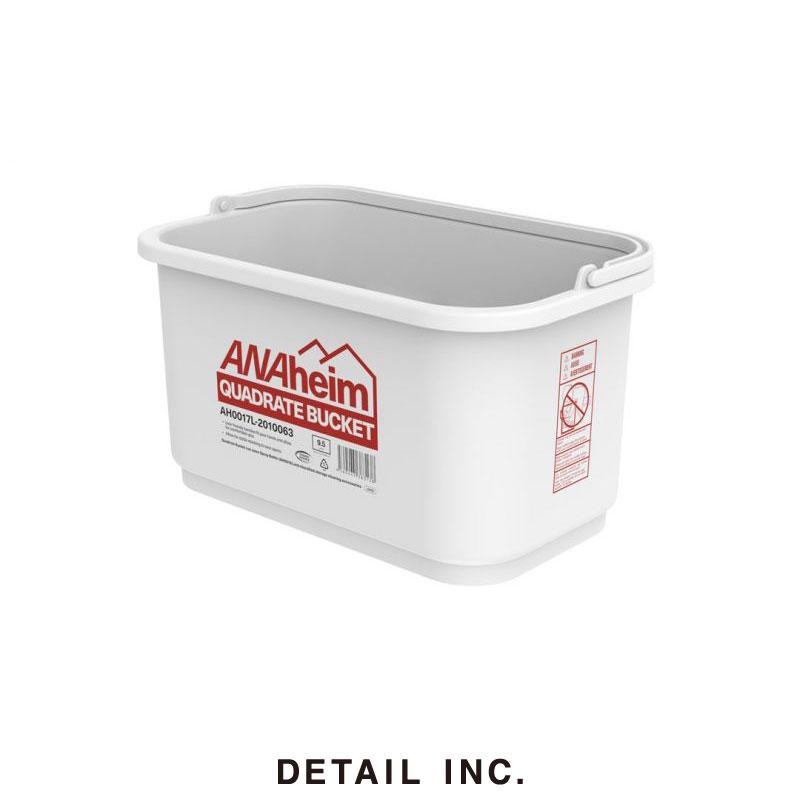 2021AW DETAIL デティール ANAheim Quadrate クリアランスsale 期間限定 Bucket