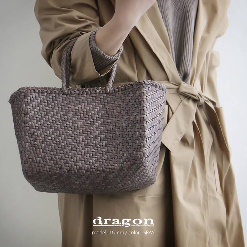 m【2019SS】【送料無料】DRAGON DIFFUSION ドラゴンディフュージョン レザーバスケット(小) BASKET SMALL 8807