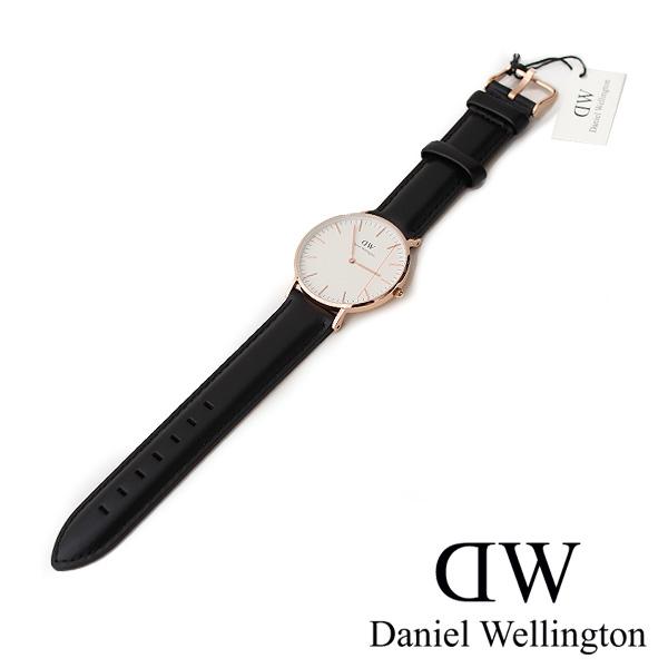 【30%★OFF】Daniel Wellington ダニエルウェリントン レザーストラップ腕時計/レディース/36mm/ クラシックシェフィールド Classic Sheffield Lady(0508DW/0608DW)