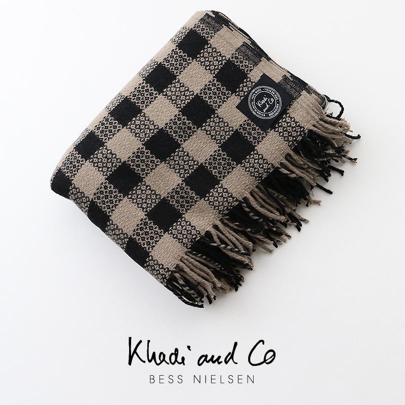 【40%★OFF】Khadi and Co カディアンドコー インテリアファブリック 130×190 KSH-2510