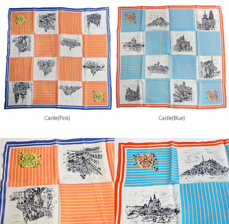 【2019SS】manipuri マニプリ コットンシルクストール スカーフ 120*120(cotton/silk)【RCP】