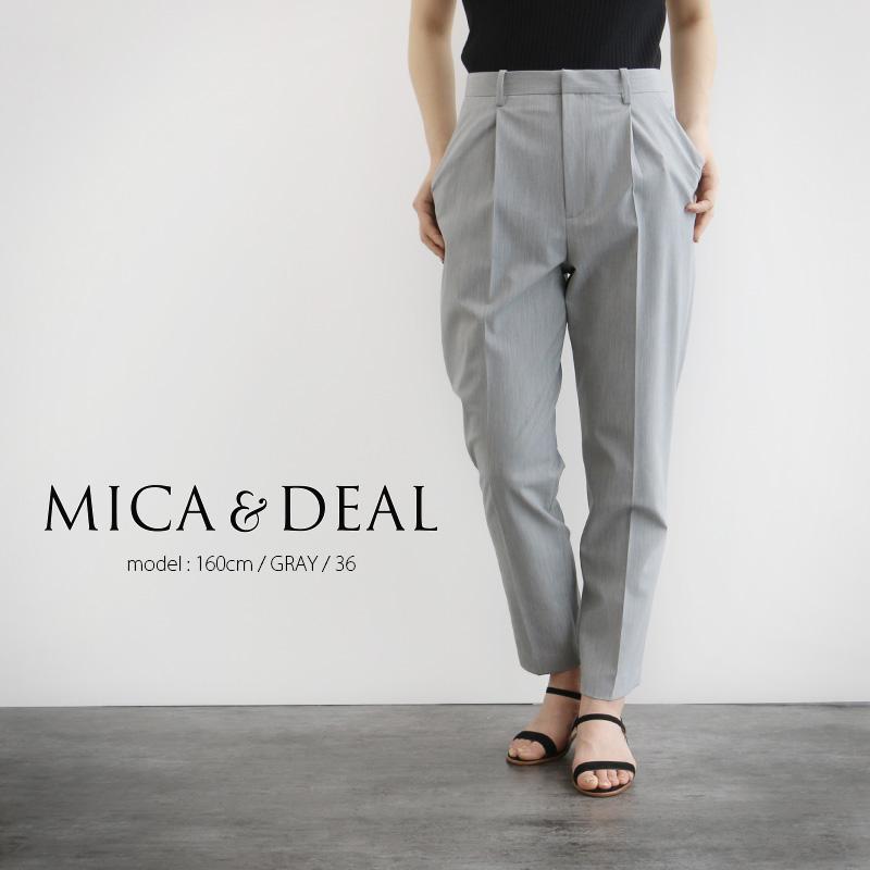 【40%★OFF】MICA&DEAL マイカアンドディール ストレッチ テーパードパンツ M19B099