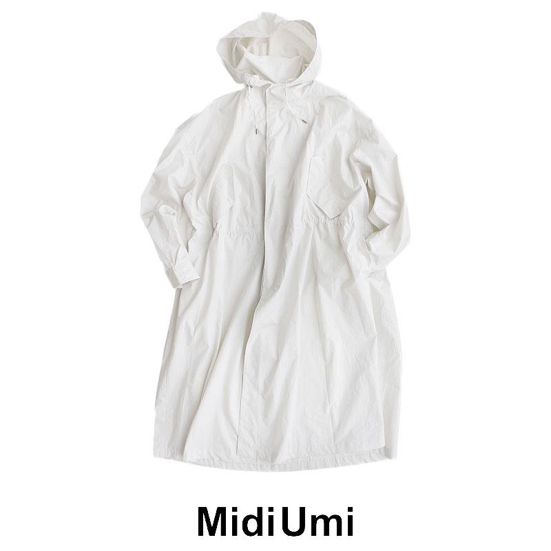 【20%★OFF】【2020SS】MidiUmi ミディウミ ライトモッズコート 1-778038