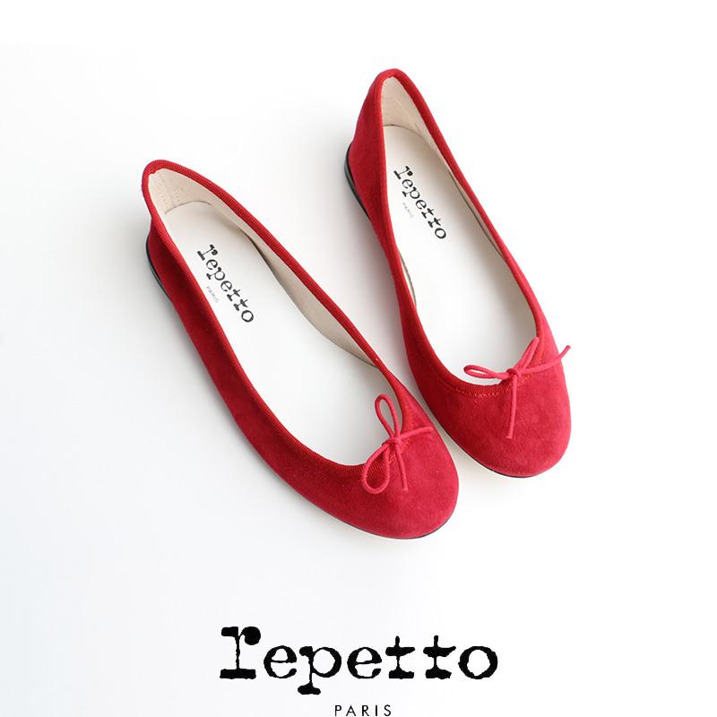 repetto repetto repetto レペット スエードバレエシューズ CENDRILLON BALLERINA 51183-1-05086(VX086CV) 65c