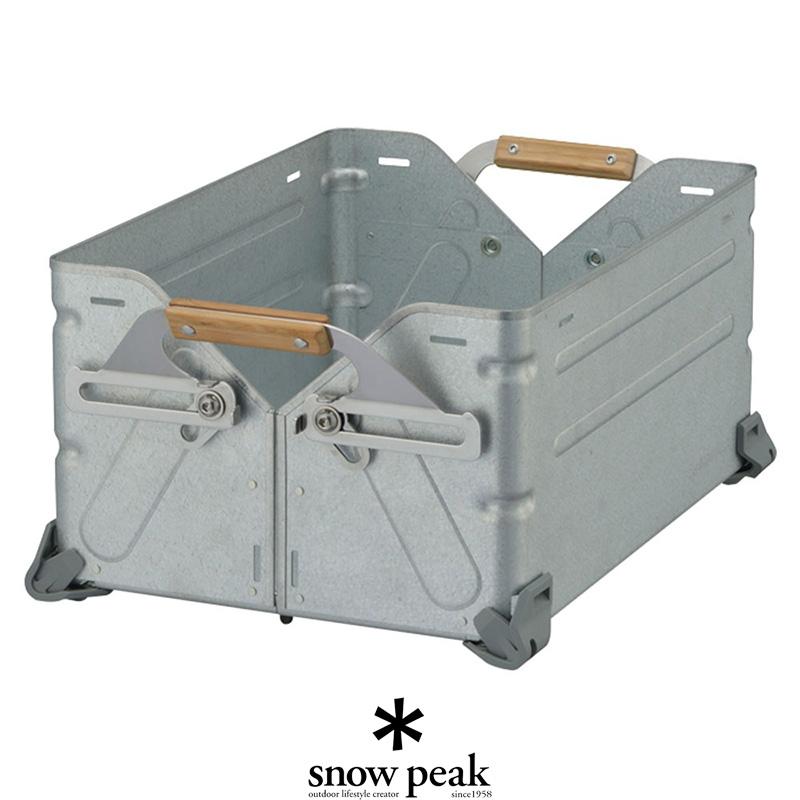 入荷予定 大人気 \10月1日より販売START 個別配送商品 snow peak スノーピーク シェルフコンテナ25 コンテナ UG-025Gバッグ クーラーボックス