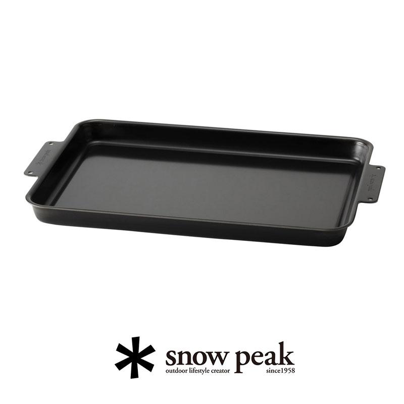 お気にいる \10月1日より販売START 個別配送商品 《週末限定タイムセール》 snow peak グリルプレート黒皮鉄板 GR-006グリルシステム スノーピーク
