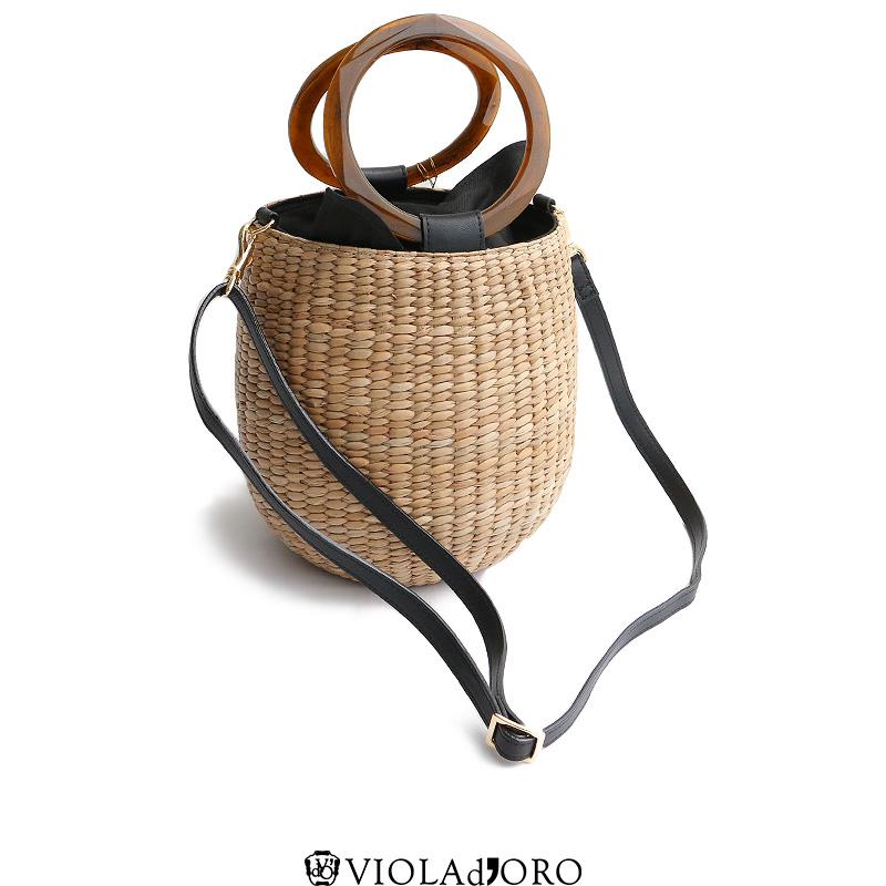 m【SALE対象外】【SS】【送料無料】VIOLA d'ORO ヴィオラドーロ 2wayバンカンカゴバッグ MIRO V-8182カゴバッグ