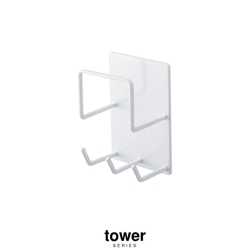 Tower メーカー公式 タワー 人気ブランド マグネットバスルームクリーニングツール 4976 4977山崎実業 ヤマザキジツギョウ トイレ バス 日用品雑貨