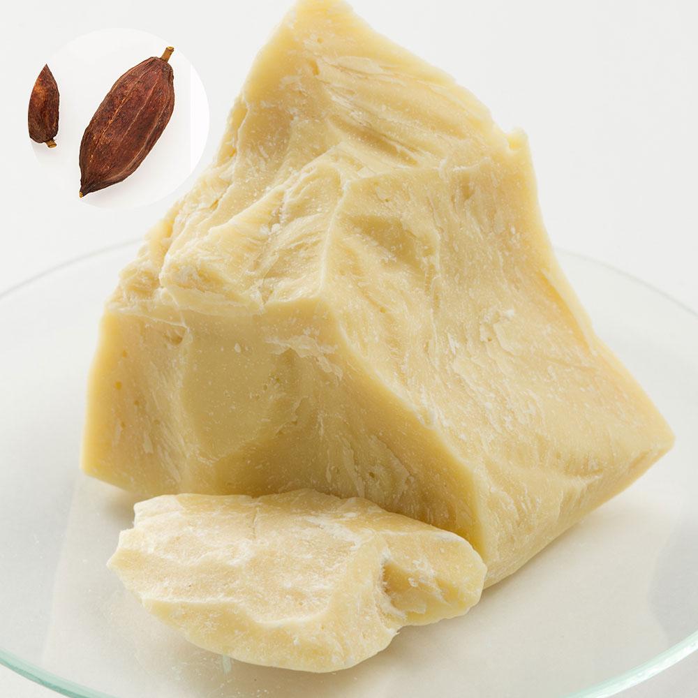 カカオバター・未精製・ダークイエロー(ココアバター)/1kg乾燥 肌 潤う ココア 100% シアバター ホホバオイル と混ぜて使う 保湿 詰め替え 詰替 未精製 エイジングケア フェイス ボディ 髪 スキンケア しっとり お買い得