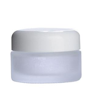 化粧品の詰め替えや手作りコスメの保存に人気のガラス容器 10%OFFセール フロストガラスジャー 白キャップ 30ml 10個 ホワイト 保存 詰め替え 小分け 手作り 返品不可 化粧品 半透明 バーム 丸 瓶 ファッション通販 容器 クリーム コスメ アトマイザー