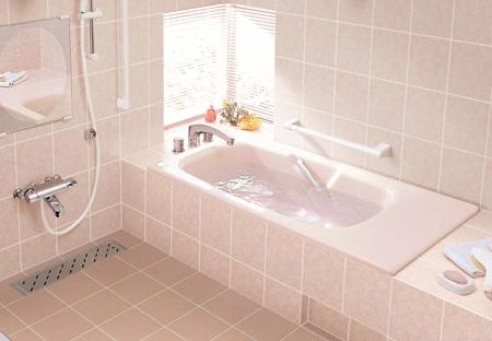 INAX 一般浴槽 グラスティN浴槽和洋折衷タイプ 1400サイズ 高齢者配慮浴槽ABN-1420HP【smtb-k】【w3】
