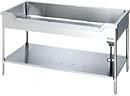 サンウェーブ 業務用設備機器 ステンレス作業機器舟型流し台(S-1FN型) 奥行60cm 高さ80cmバックガードなし 間口90cm S-1FN090B0N:TSSプロネット住宅資材店