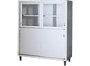 サンウェーブ 業務用設備機器 収納・配膳・配送機器食器戸棚(棚板付属) 間口150cm DCS-156