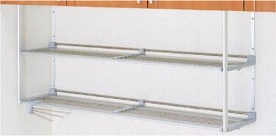 クリナップ キッチン 共通機器 アイエリア機器ステンレスパイプ棚 高さ50cm 間口90cm MTA2-90