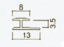 アイカ キッチンパネルアイカセラール 施工部材アルミジョイナー 20本梱包 カラー仕上げ 平目地用ZK-120A