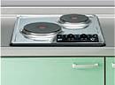 サンウェーブ キッチン 木製キャビネットサンファーニ・ティオ・ツー 加熱機器電気・2口コンロ SPH-232AT-SW
