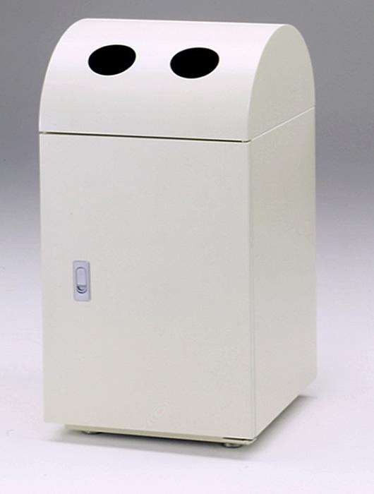 リサイクルトラッシュ 業務用・オフィス用ゴミ箱 OSE-31二口穴タイプ・本体 中691621