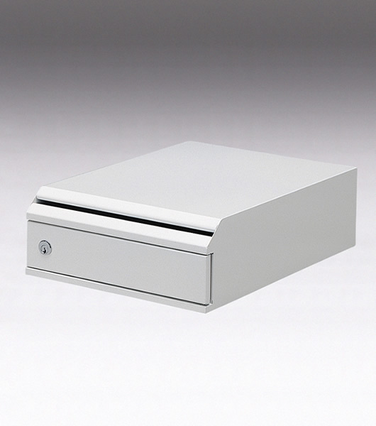 機密書類回収ボックス(卓上タイプ) 業務用・オフィス用ゴミ箱 KIM-S-6691637