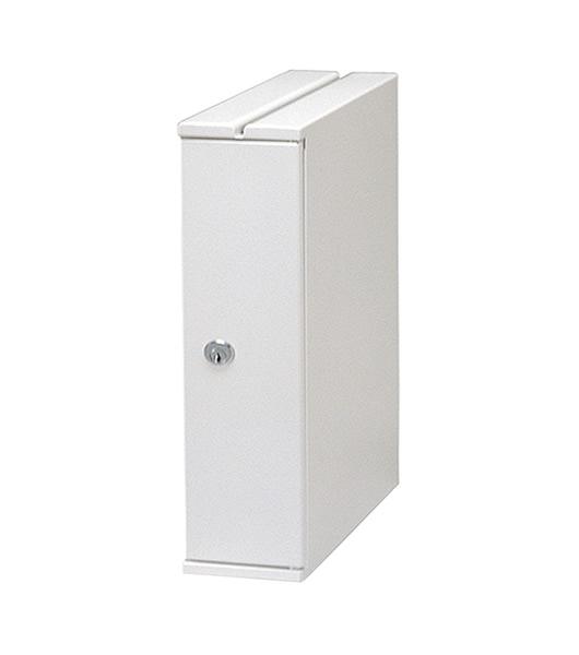 機密書類回収ボックス(デスクサイドタイプ) 業務用・オフィス用ゴミ箱 KIM-S-8691639