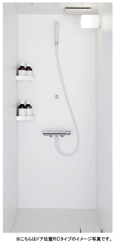 LIXIL リクシル シャワールーム(シャワーユニット) ●0812タイプ(浴室内寸法800×1200mm)●ELタイプ●壁パネル・つや消しホワイト●ツーハンドル水栓SPB-0812LBEL-A