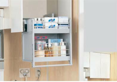 クリナップ 洗面化粧台 洗面化粧台共通機器ムーブダウンキャビネット SOP-W65D
