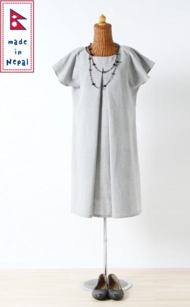 授乳服 【あす楽対応】【送料無料】ラプティ 《ネパール製 授乳服 半袖 手織り チュニック ワンピース 春夏 授乳服 モーハウス》