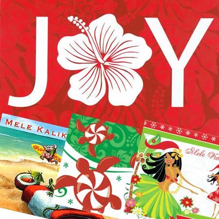 hawaiian christmas cards hawaiian jewelry - Hawaiian Christmas Cards