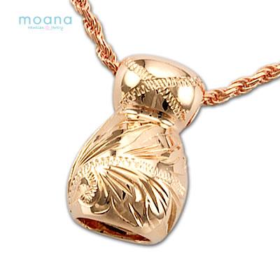 夏威夷人珠宝项链链子其他手雕刻ipupinkugorudokarashiruba 925吊坠女士快递附带盒子