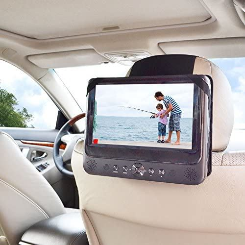 WANPOOL自動車後部座席ヘッドレストに乗せる車載スタンドは、Sony BDPSX910 Blu-Rayポータブルプレーヤーや他の9インチのポータブルで回転可能DVDプレーヤーに適用できる設計となっています