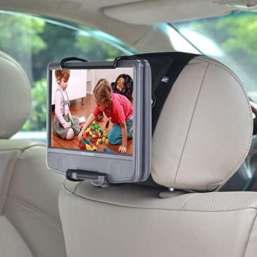 WANPOOL自動車後部座席ヘッドレストに乗せる車載スタンドは 見る角度を調整することができ 倉 7-10インチのポータブルで回転可能DVDプレーヤー専用に設計されたものです 春の新作シューズ満載