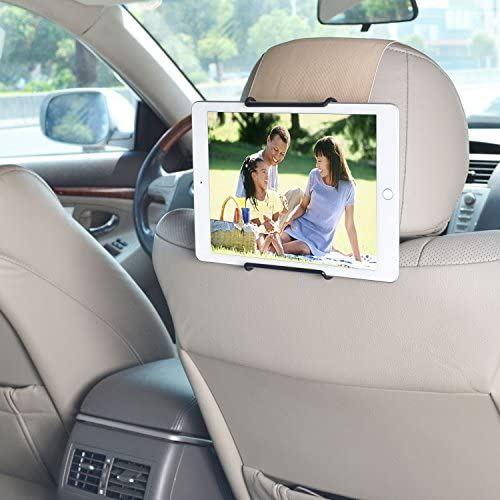 WANPOOL車用 後席用タブレットPCホルダー 7-11インチのタブレットPCに対応 - iPad Pro 10.5英寸 Tab S2 Galaxy お値打ち価格で お気に入り 黄色がかったクリーム色 8.0などに Samsung