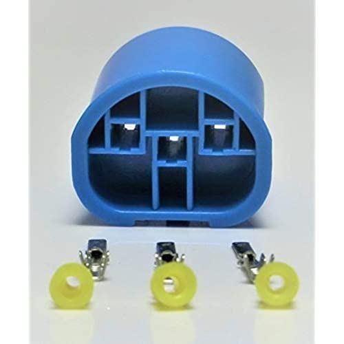 メール便 AutoSite コネクター 送料無料お手入れ要らず HID 防水 カプラー HB5 HB1 片方 オス側 2020 新作 端子付き オートサイト DIY カプラー1個+端子3本+防水ゴム3個 9004 9007