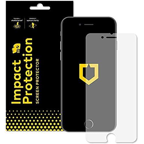RhinoShield iPhone 8 Plus 7 お値打ち価格で - 衝撃減衰分散技術 画面用 引出物 耐衝撃画面保護シート 高強度