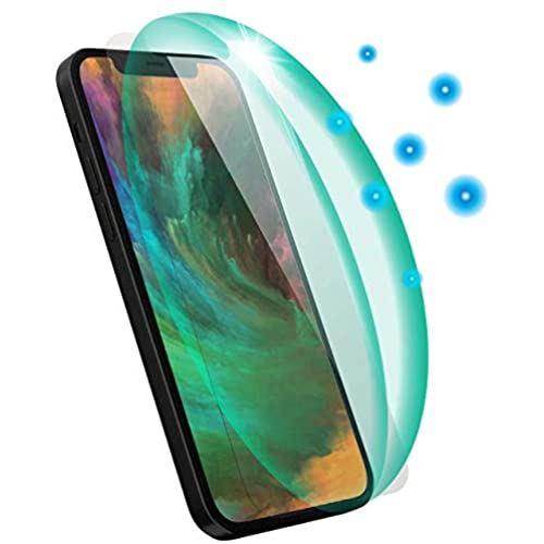 パワーサポート VOWGO 抗菌 特価キャンペーン 抗ウィルス キャンペーンもお見逃しなく tempered glass ガラス iPhone12Pro Max for PPBC-04