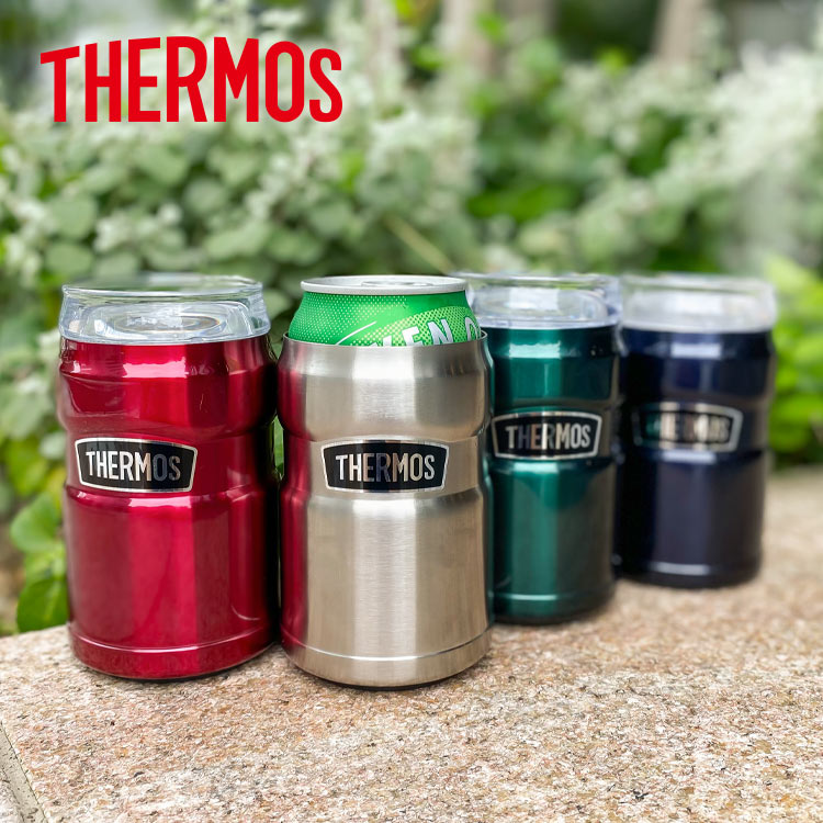 THERMOS サーモス 真空断熱缶ホルダー350ml 新作製品 日本メーカー新品 世界最高品質人気 J952 入缶ホルダー タンブラー 保冷 缶ビール 長持ち アウトドア 送料無料 キャンプ バーベキュー ピクニック 水筒 BBQ