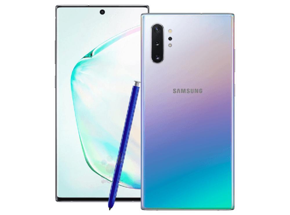 SAMSUNG Galaxy Note10 + Plus 本体 海外版 SIMフリー 新品未開封 SM-N975F Aura Glow Dual SIM 白ロム ROM 256GB RAM 12GB Note10