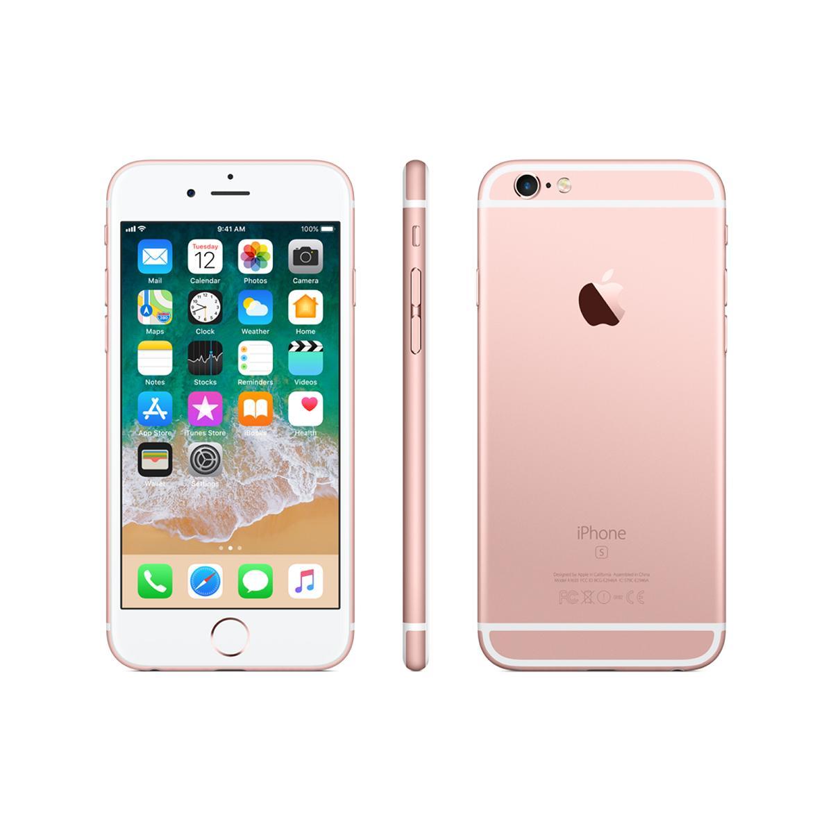 iPhone 6s 32GB 本体 SIMフリー ローズゴールド 新品未開封 Apple 1年保証 アップル iPhone6s docomo版 正規SIMロック解除済み RoseGold MN122J/A A1688 一括購入品 ネットーワーク利用制限〇 白ロム