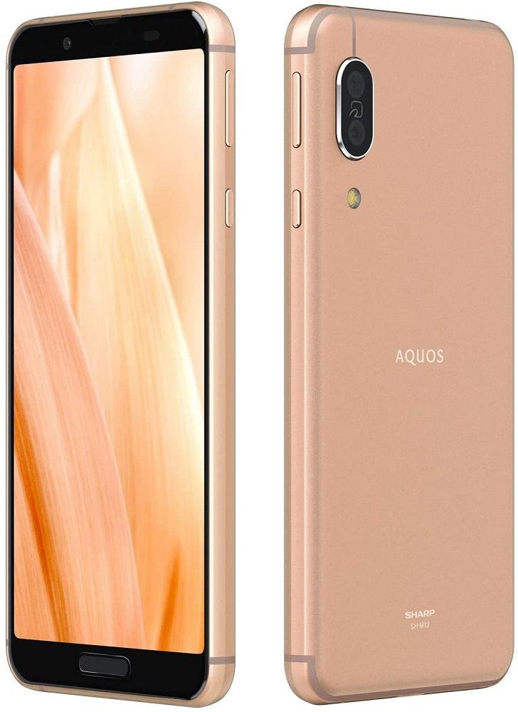 SH-M12 AQUOS sense3 SIMフリー 本体 SHARP スマホ 新品未使用 ライトカッパー 白ロム 64GB/4GB