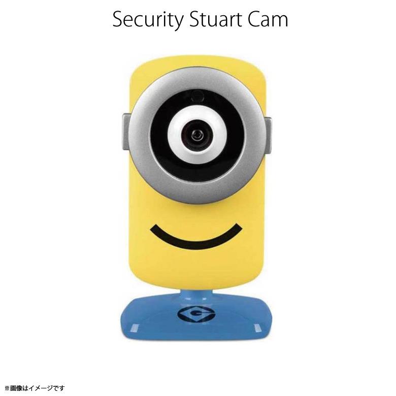 お子様やペットの様子が見れる ネットワークカメラ スマホ iPhone アプリ ペット カメラ 留守番 割り引き ワイヤレス セキュリティカメラ 監視 ベビーカメラ 出産祝 キャラ かわいい 介護 即納 モニタリングカメラ 動体探知機能 tend 6954 ミニオンズ 録画 宅配便送料無料 まとめ買い特価 怪盗グルーシリーズ 360度 wifi接続 Stuart 代引不可 在庫限り セキュリティーカメラ MIN-CM1 Cam 暗闇 ボイス機能F.K.Solutions 防犯カメラ