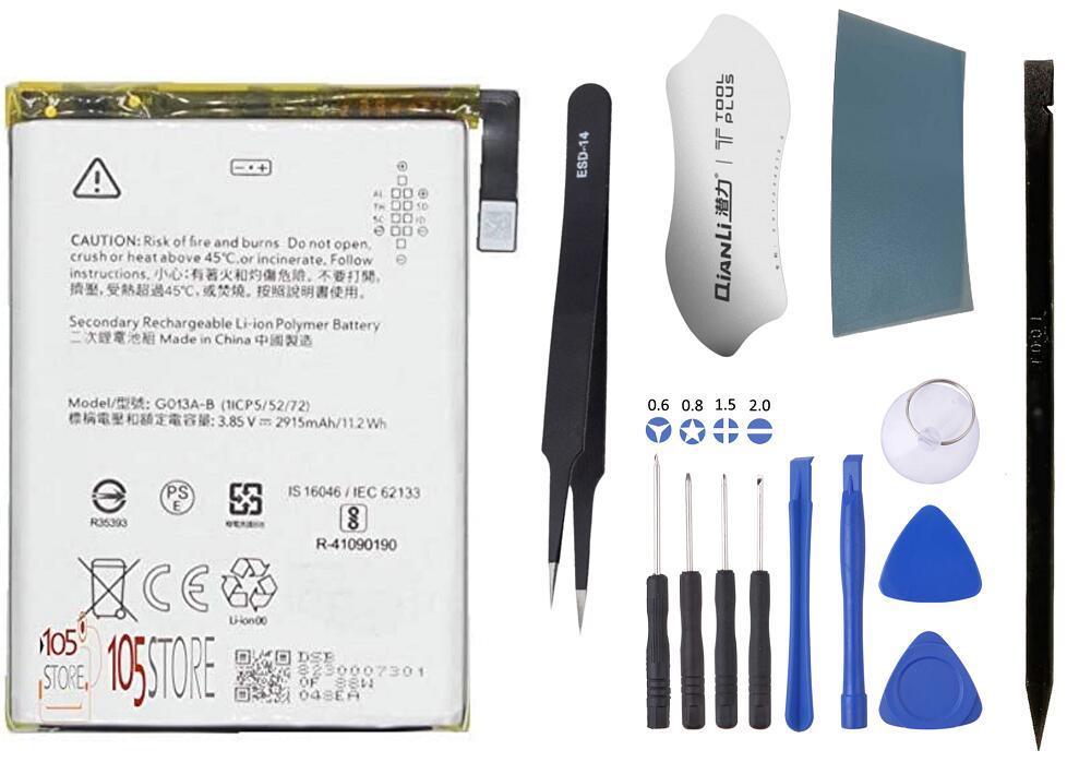 検品済 プロ厳選工具付き 105Store プロにも実際に使用されている部品 Google Pixel 感謝価格 互換バッテリー メーカー再生品 G013A-B 修理用 3 電池パック