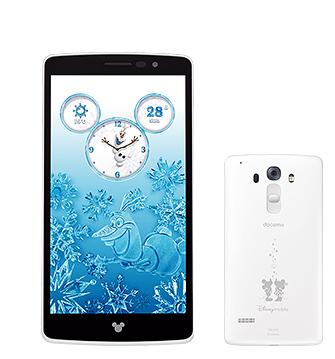 【新品・白ロム・本体】 docomo DM-01G [Pure White] Disney Mobile on docomo DM-01G ホワイト スマートフォン 携帯電話 DM-01G WH