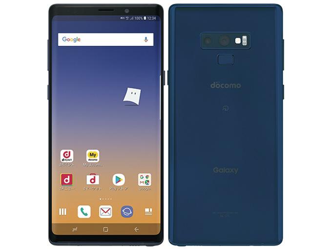 【新品・白ロム・本体】SIMロック解除済 ドコモ Galaxy Note9 SC-01L Ocean Blue  スマートフォン 携帯電話 sc-01l sc-01l SC-01L オーシャンブルー
