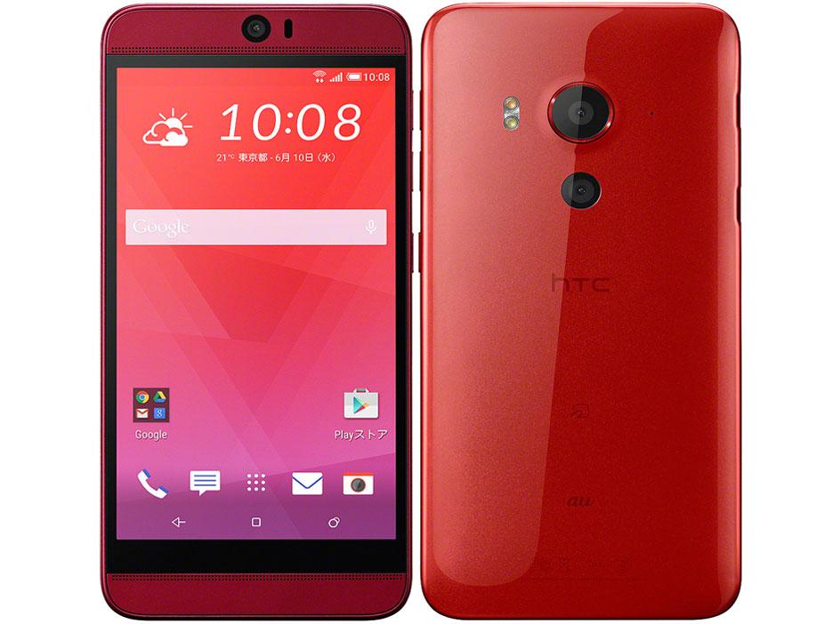 【新品・白ロム・本体】au HTC J butterfly HTV31 ロゼ スマートフォン 携帯電話 HTV31