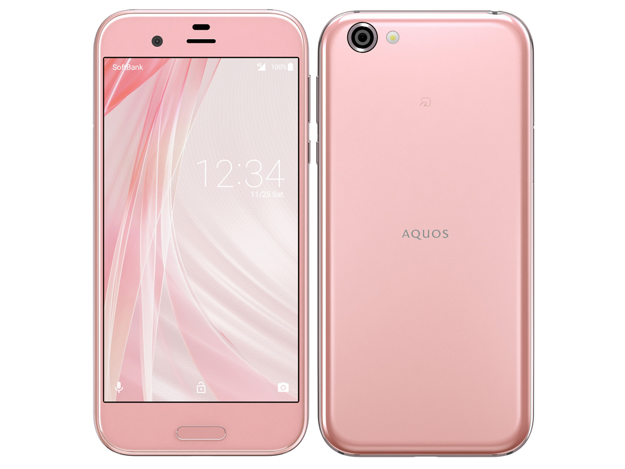 【新品・白ロム・本体】SIMロック解除済SoftBank AQUOS R  605SH オーロラピンク 携帯電話 スマートフォン605SH pink 白ロム 605sh ソフトバンク aquos r 605sh