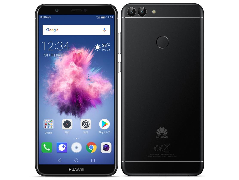 【新品・白ロム・本体】SIMロック解除済 SoftBank HUAWEI nova lite 2 704HW ブラック スマートフォン 携帯電話 704HW BLACK 704hw
