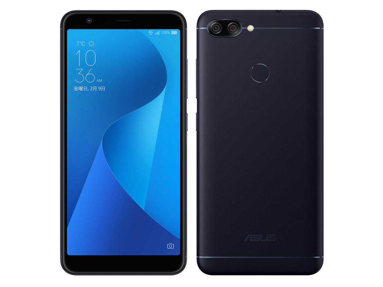 【新品未開封・白ロム・本体】SIMフリーエイスース ASUS ZenFone Max Plus (M1) ZB570TL-BK32S4 ブラック スマートフォン 携帯電話 zb570tl ZB570TL  zenfone max plus m1 BLACK