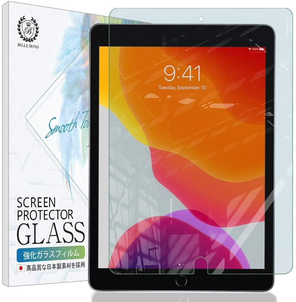 iPad 10.2 フィルム ガラスフィルム 強化ガラス 保護フィルム ブルーライトカット 2019 第7世代 硬度9H 指紋防止【定形外】