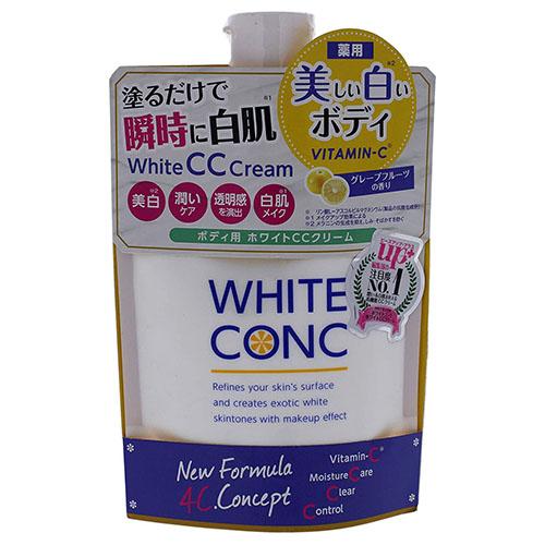 薬用ホワイトコンク ホワイトニングCCクリーム 激安特価品 本店 200g 外装台紙破れ