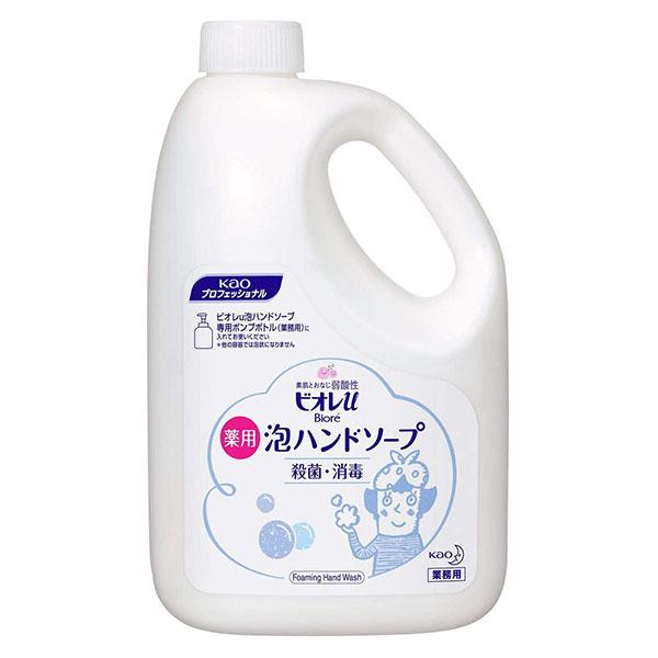 業務用泡ハンドソープ ビオレu 泡ハンドソープ 現金特価 プロフェッショナルシリーズ 2L 倉庫 ボトル凹み汚れあり
