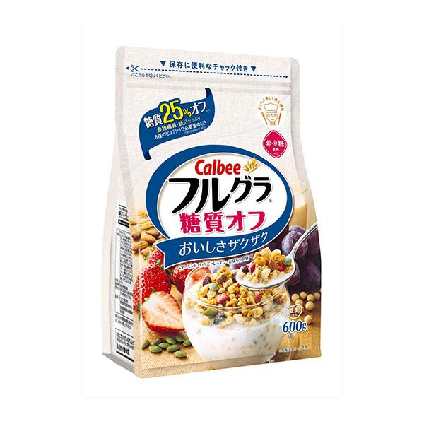 カルビー フルグラ 糖質オフ 600g×6袋【賞味期限2022.02】